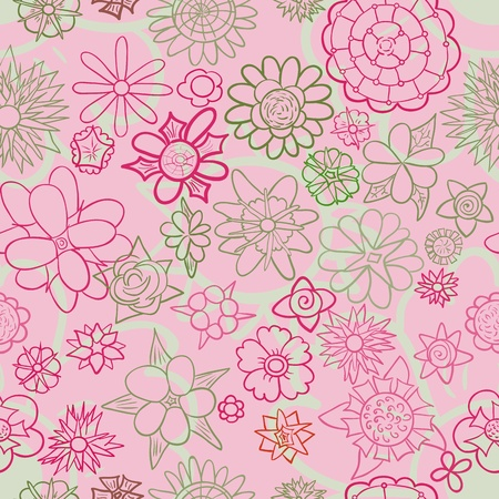 Floral seamless pattern Stock Vector - 12493584