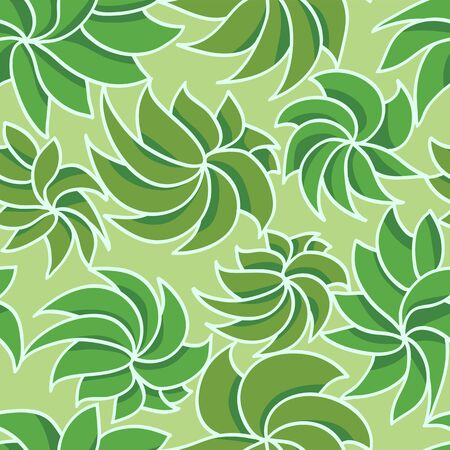 Hand drawn grass seamless pattern Vector