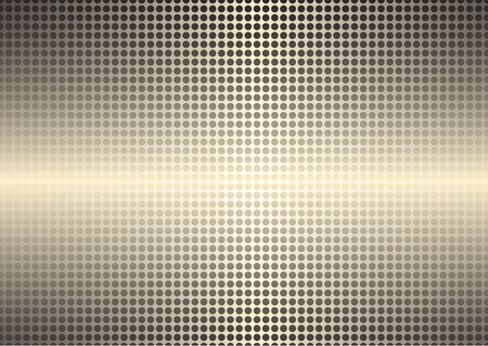 Golden spotted shining background Vector