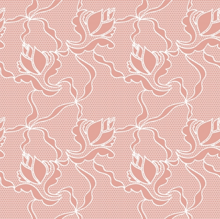 womanly: Roses  lace lovely white seamless pattern