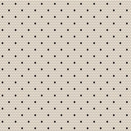 Negro elegante patrón de cordones sin costura de puntos Ilustración de vector