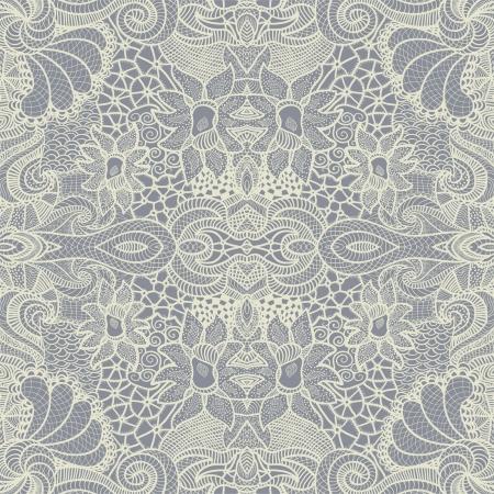 Hand drawn seamless pattern Illustration