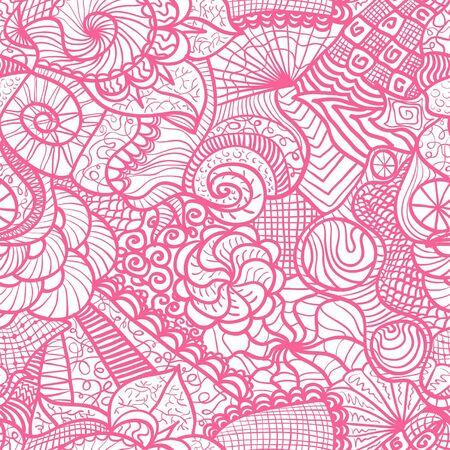Hand drawn seamless pattern, seamless  pattern Stock Vector - 15095679