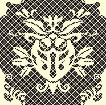 Beautiful seamless damask pattern Stock Vector - 15138299