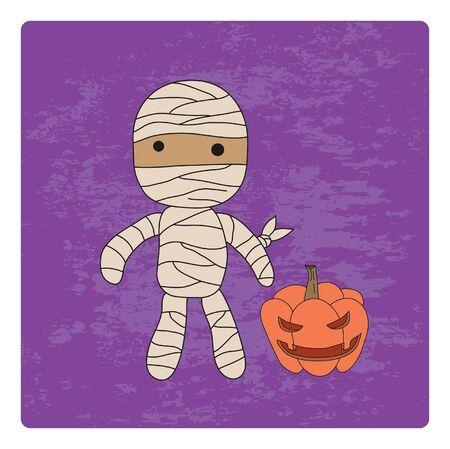 Halloween character. Stock Vector - 15138309