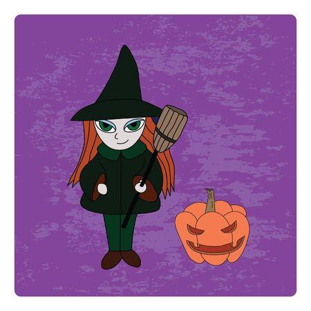 Halloween character. Stock Vector - 15138336