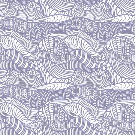 Seamless abstract hand-drawn pattern. May be used as background. Vector