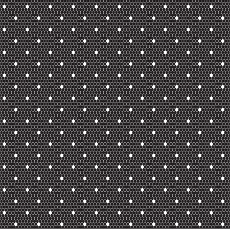 White elegant dotted lace seamless  pattern Stock Vector - 16473264