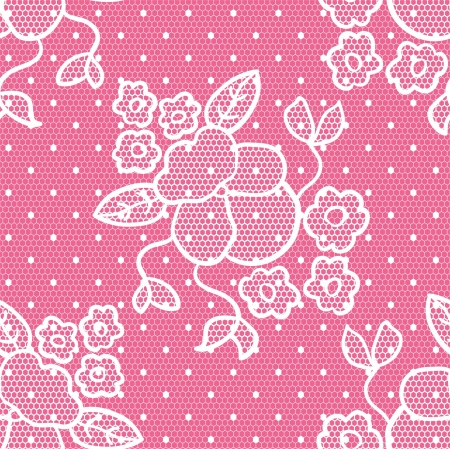 Lacy vintage gentle background. Seamless pattern. Vector