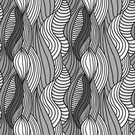 Seamless abstract hand-drawn pattern, hair background Stock Vector - 16583673