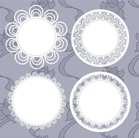 Vector illustration. Background for scrapbook. Vector
