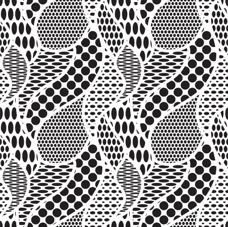 Lace vector fabric seamless pattern Stock Vector - 17374746