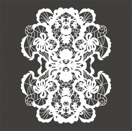 Lace ornament Stock Vector - 17667217