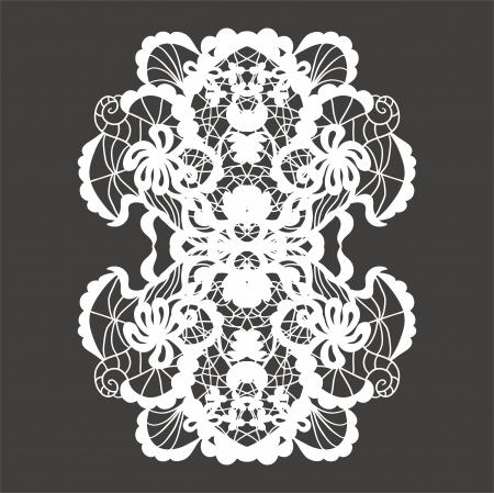 Lace ornament Stock Vector - 17667217