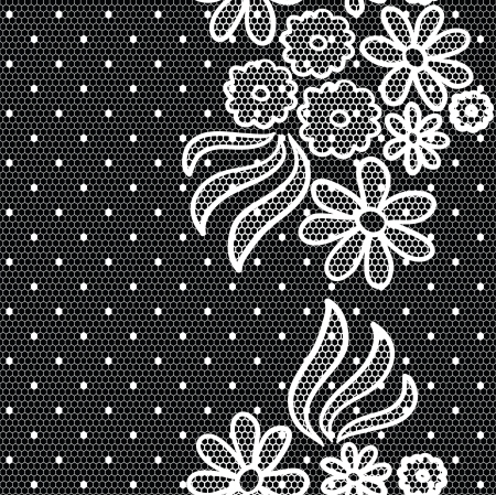 lacy: Lacy vintage gentle vector background. Seamless pattern.