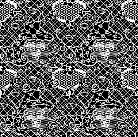 lace pattern: Lacy vintage gentle vector background. Seamless pattern.