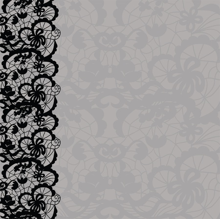 tights: Vertical seamless background with a floral ornament