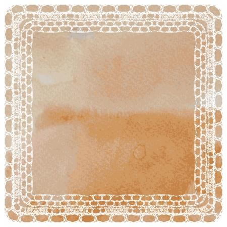diameter: Vector template di sfondo Lacy