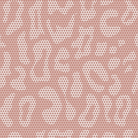 lace vector fabric leopard seamless pattern Vector