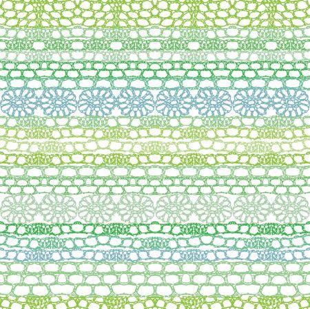 Lace seamless crochet pattern.