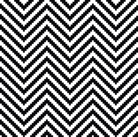 small group of object: Black and white pattern. Vector ornament.