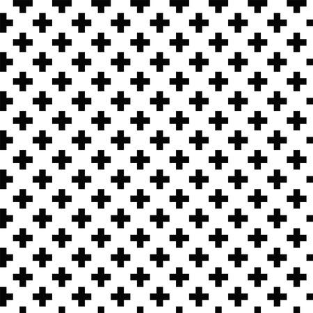 pattern: Zwart-wit patroon. Vector ornament.