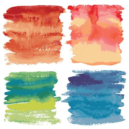 wet paint: Vector backgrounds