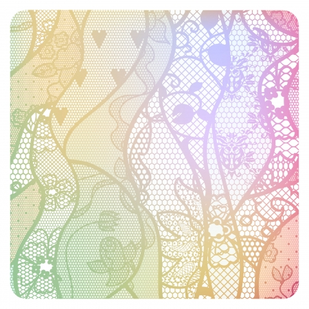 Lacy vintage background in soft colors  Stock Vector - 22724503