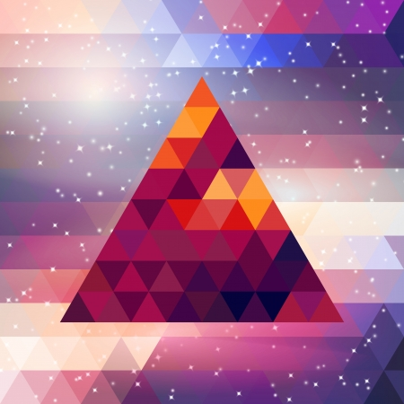 Vector triangle  Template