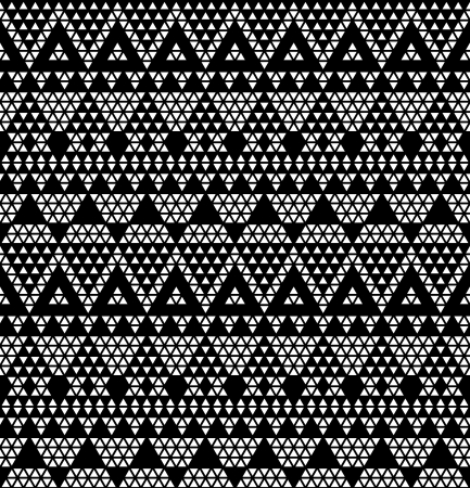 monochromic: Tribal monochromic lace  Vector illustration
