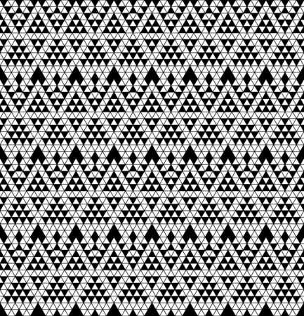 monochromic: Tribal monochrome lace  Vector illustration