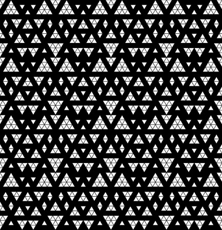 Tribal monochrome lace  Vector illustration  Vector
