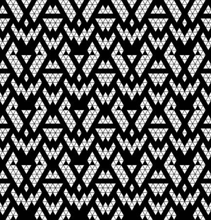 monochromic: Tribal monochrome lace  Vector illustration