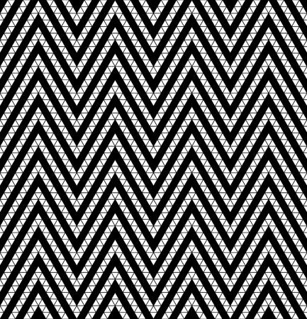 ethno: Tribal monochrome lace  Vector illustration