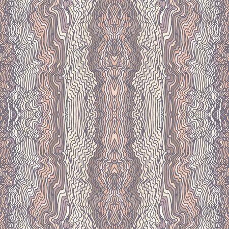waves: Seamless waves hand-drawn elegant pattern, waves background