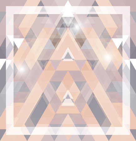 abstract pattern: Geometric shining pattern with triangles. Vector illustration. Illustration