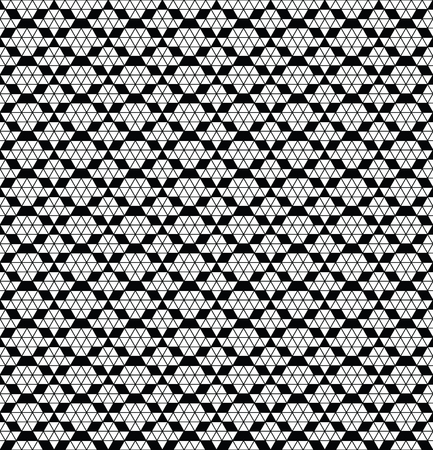 mexican black: Tribal monochrome lace. Trendy modern pattern for your design. Vector illustration. Illustration