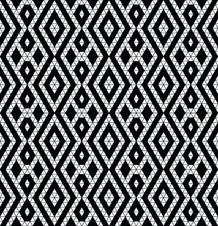 the trendy: Tribal monochrome lace. Trendy modern pattern for your design. Vector illustration. Illustration