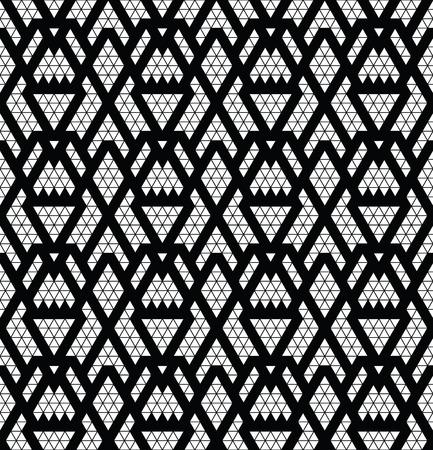 monochromic: Tribal monochrome lace. Trendy modern pattern for your design.
