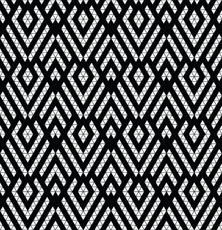 monochromic: Tribal monochrome lace. Trendy modern pattern for your design.