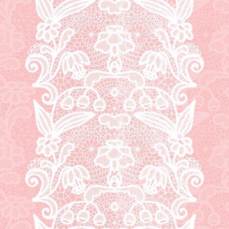white trim: White lacy vintage elegant trim