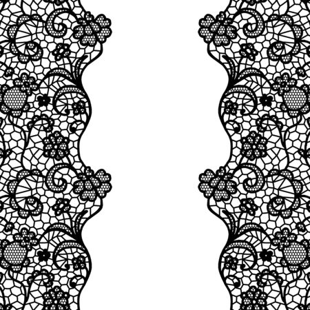 lacework: Seamless lace border.