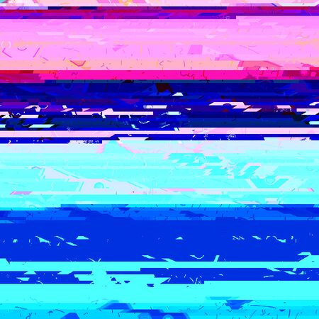 glitch: Glitch effect background. Raster abstract background. best for party flayers.