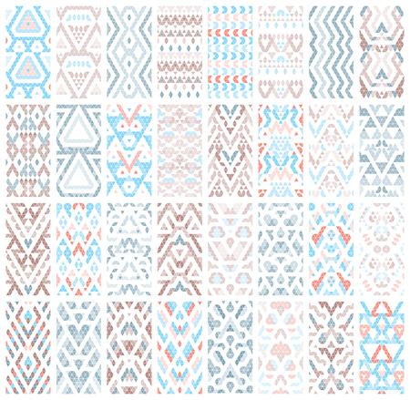 Set of 32 patterns. Illustration