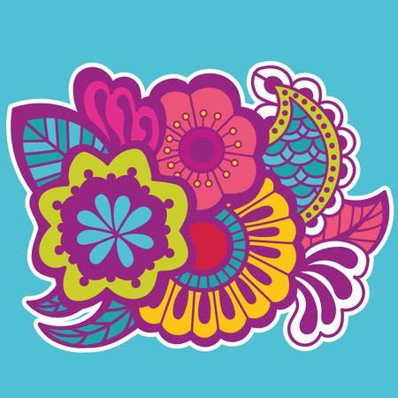 embellishment: Mehndi design. Patterns.