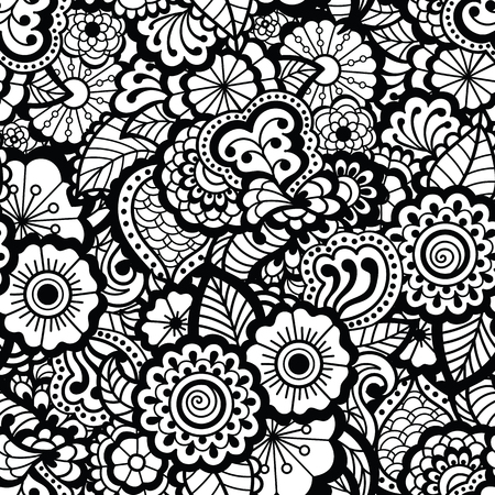 east indian: Paisley seamless pattern