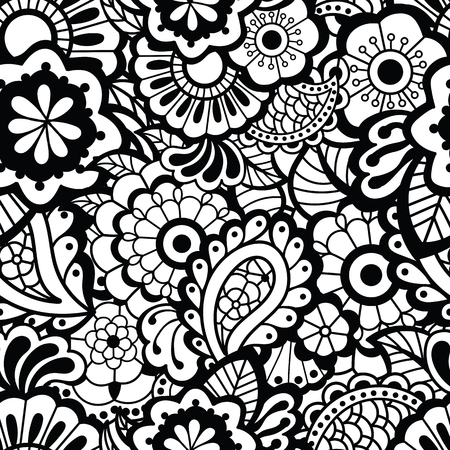 pattern: Paisley seamless pattern