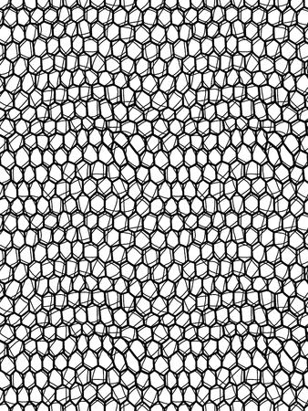 Seamless mesh background. Vector illustration Ilustração
