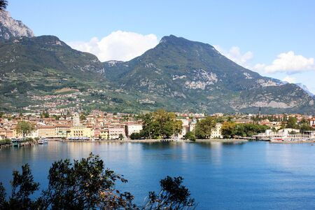Riva Del Garda, Italy. View on a city