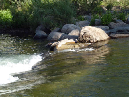 the rapids: Rocks in the Rapids